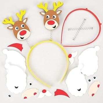 Baker Ross Kopfschmuck Sets Weihnachten Für Kinder Zum