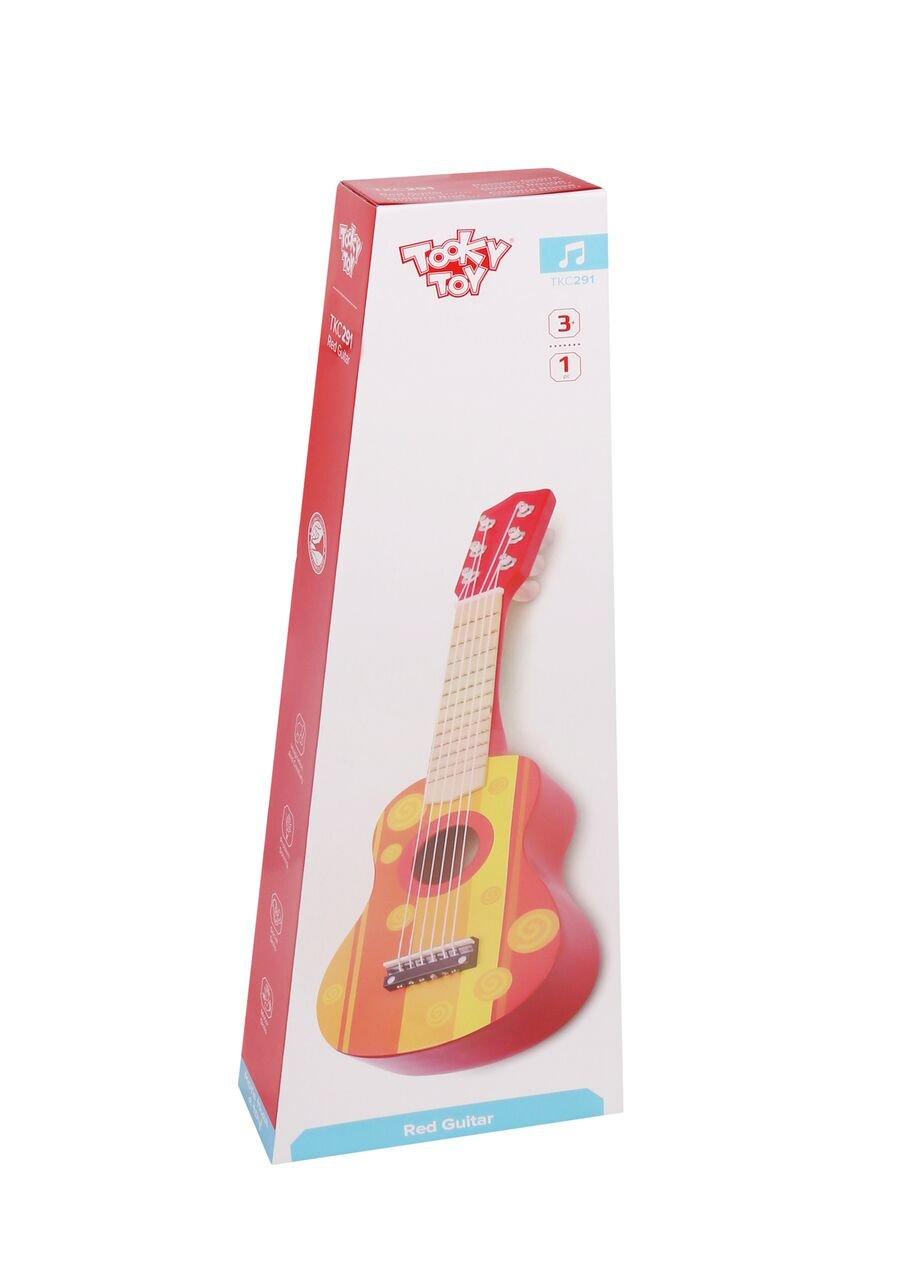 Tooky Toy Guitarra de Juguete para ni/ños Instrumento Musical a Partir de 3 a/ños