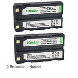 Kastar D-Li1 Battery 2 Pack for Pentax Ei-D-Li1 EI-D-BC1 Pentax EI-2000, Trimble 29518 46607 52030 54344 38403 5700 5800 R6 R7 R8 GNSS TR-R8 GPS MT1000, HP C8873A HP PhotoSmart 912 C912 912XI C912XI
