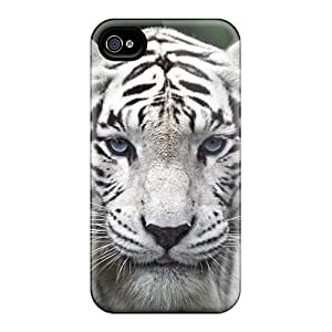 Awesome AOl15628nSRA Richardfashion2012 Defender Tpu Hard Cases Covers For Iphone 5/5s- Female While Tiger Black Friday