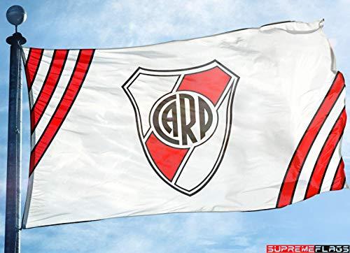 Soccer River Plate - River Plate Flag Banner 3x5 ft Argentina Futbol Soccer Bandera