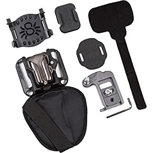 SpiderHolster SpiderLight BackPacker Kit, Includes Holster, Plate and Pin