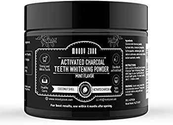 Moody Zook Teeth Whitening Charcoal Powder