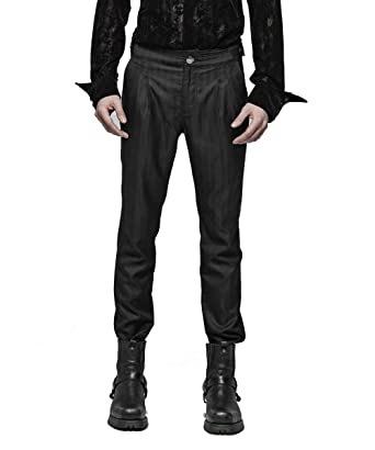 Pantalones de Vestir para Hombre, Estilo gótico, Estilo Victoriano ...