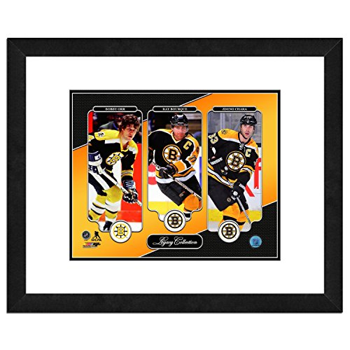 (NHL Boston Bruins Men's Legacy Collection Framed Photo, One Size)