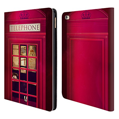Head Case Designs K2 I Love London Leather Book Wallet Case Cover for Apple iPad Air 2 (Ipad Air Case I Home compare prices)