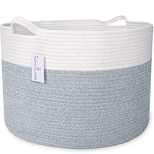 (XXL Cotton Rope Blanket Basket 20