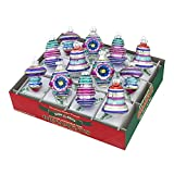 Radko Shiny Brite Christmas Brites Decorated Shapes & Bells