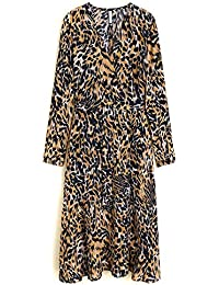 1ae2046ff2 Women Leopard midi Dress 43061060 · MANGO