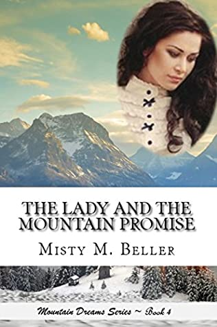 book cover of The Lady and the Mountain Promise