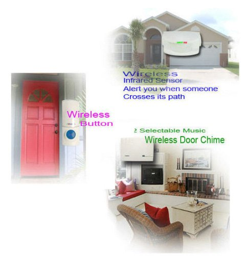 Amazon.com: Musical Driveway Patrol Motion Detector Alarm As ...