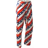 Royal & Awesome Pars and Stripes USA Mens Golf Pants