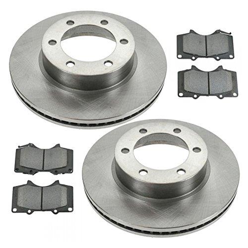 Front Posi Semi Metallic Brake pad & Rotor Kit for Toyota Pickup Truck (Front Toyota Brake Pickup)