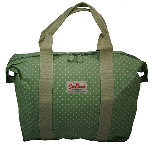 451e6bd02cdb Cath Kidston NEW Foldaway Overnight Shopper Bag Mini Dot Sage Green   Amazon.co.uk  Shoes   Bags