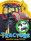 Tractors Mini Coloring Book, Make Believe Ideas, 1780657617