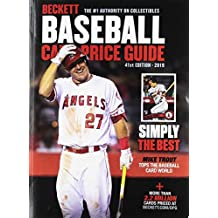 Beckett Baseball Card Price Guide 2019