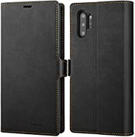 SRZCY Galaxy Note 10 Plus Case, Note 10+ 5G Cases, PU Leather Flip Wallet Phone Cases with Card Slots Magnetic...