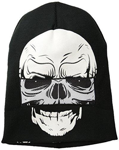 Concept Skull Down Beanie Face One Hat Flip SqxS6UC