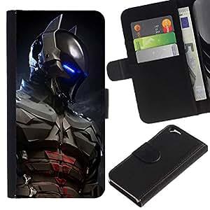All Phone Most Case / Oferta Especial Cáscara Funda de cuero Monedero Cubierta de proteccion Caso / Wallet Case for Apple Iphone 6 // Future Bat Superhero