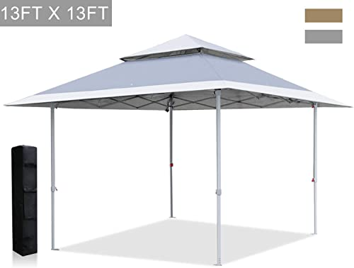 ABCCANOPY 13×13 Canopy Tent Instant Shelter Pop Up Canopy 169'sq.ft Outdoor Sun Shade