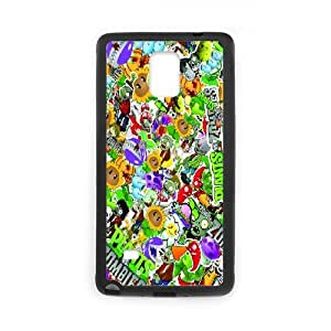 Plants vs. Zombies DIY case For phone Case Samsung Galaxy Note 4 N9100 Q1W782605