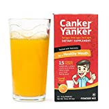 CankerYanker® Natural Canker Sore Relief, Healing & Prevention: (Lysine, B12, ProBiotics & more!) Eat again. Drink again. Smile again! 15 - 6.1 g packets/ net Wt 3.2 oz (91.5g)