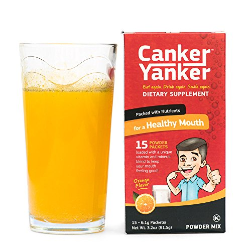 CankerYanker Natural Canker Sore Relief, Healing & Prevention: (Lysine,...