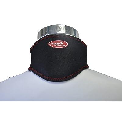 Far Infrared cervical chauffant–en néoprène de qualité électrique Chauffage infrarouge Therapy- Élimine les douleurs musculaires Adjustable- One Tailleâ€