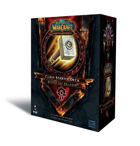 (World of Warcraft Trading Card Game 2011 Fall Class Starter Deck Blood Elf Paladin)