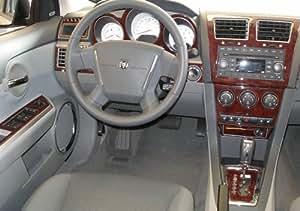 Dodge caliber interior burl wood dash trim kit - 2008 dodge charger interior trim ...