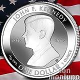 JOHN F KENNEDY 1 oz Reverse Proof Silver