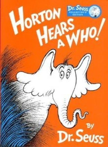 DR. SEUSS HORTON HEARS A WHO! Collector's Edition by Kohls Cares for Kids (Dr Suess Collectors)