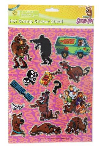 Scooby Doo Sticker Set - Kids Stickers Sheet