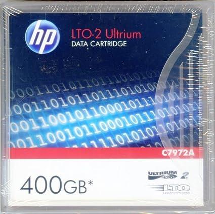 200//400GB HP LTO-2 Data Cartridge Tape C7972A Ultrium-2