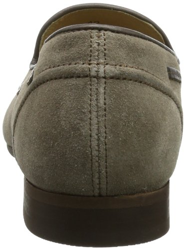 Mens H by Hudson Pierre Suede Slip On Smart Work Office Casual Shoes Taupe LkeIb1t
