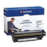 Verbatim HP CE250A Color LaserJet 3530 MFP, CM3530FS MFP, CM3525DN, CM3525N, CM3525X Replacement Cartridge (97482) Black, Office Central