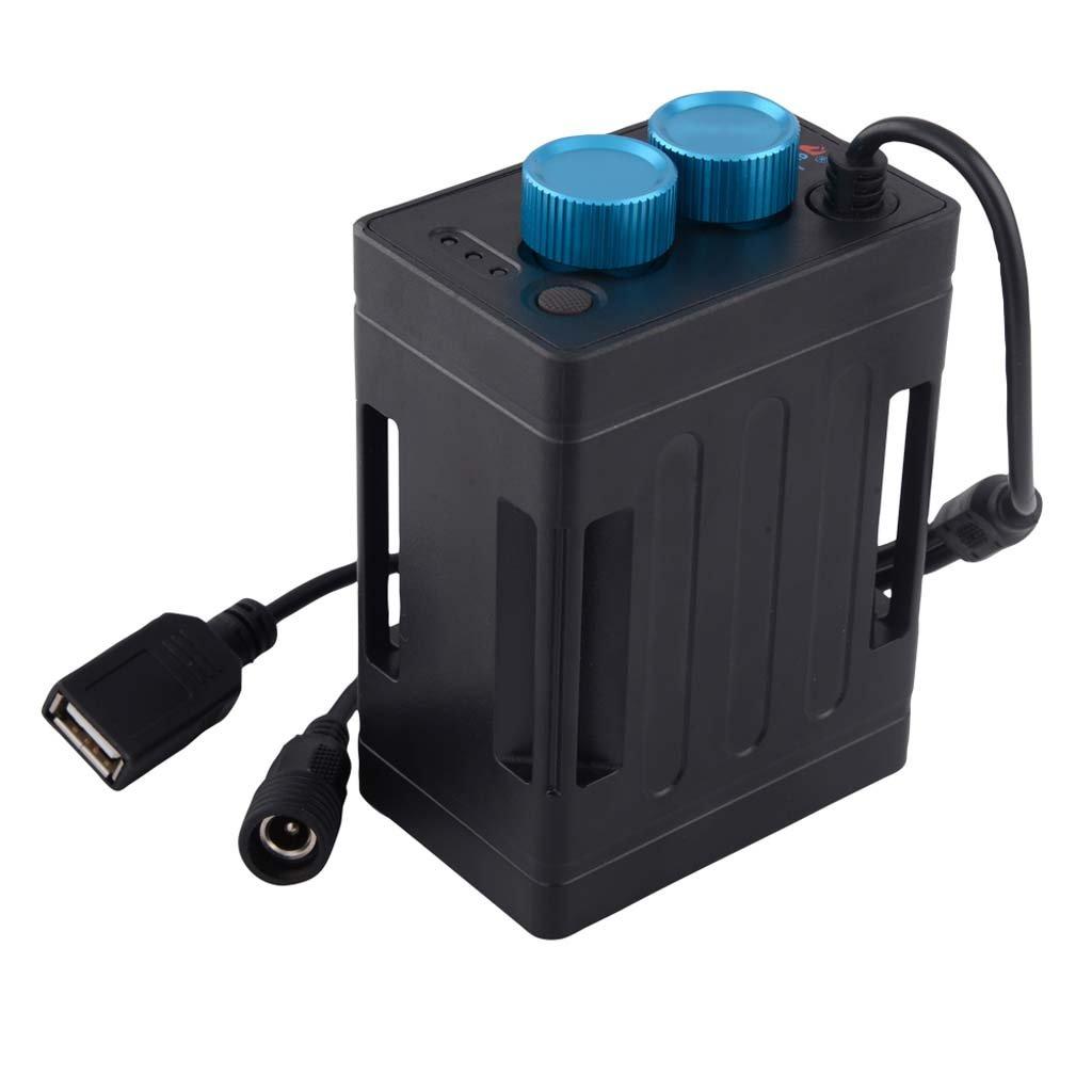 Ranuw 5 V 8.4 V 6 x 18650 é tanche de la batterie Pack Box Coque pour té lé phone portable pour vé lo Lampe