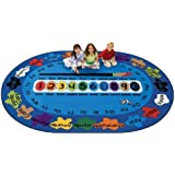 Carpets for Kids 5395 Bilingual Spanish Paint by Numero Kids Rug Size: 69