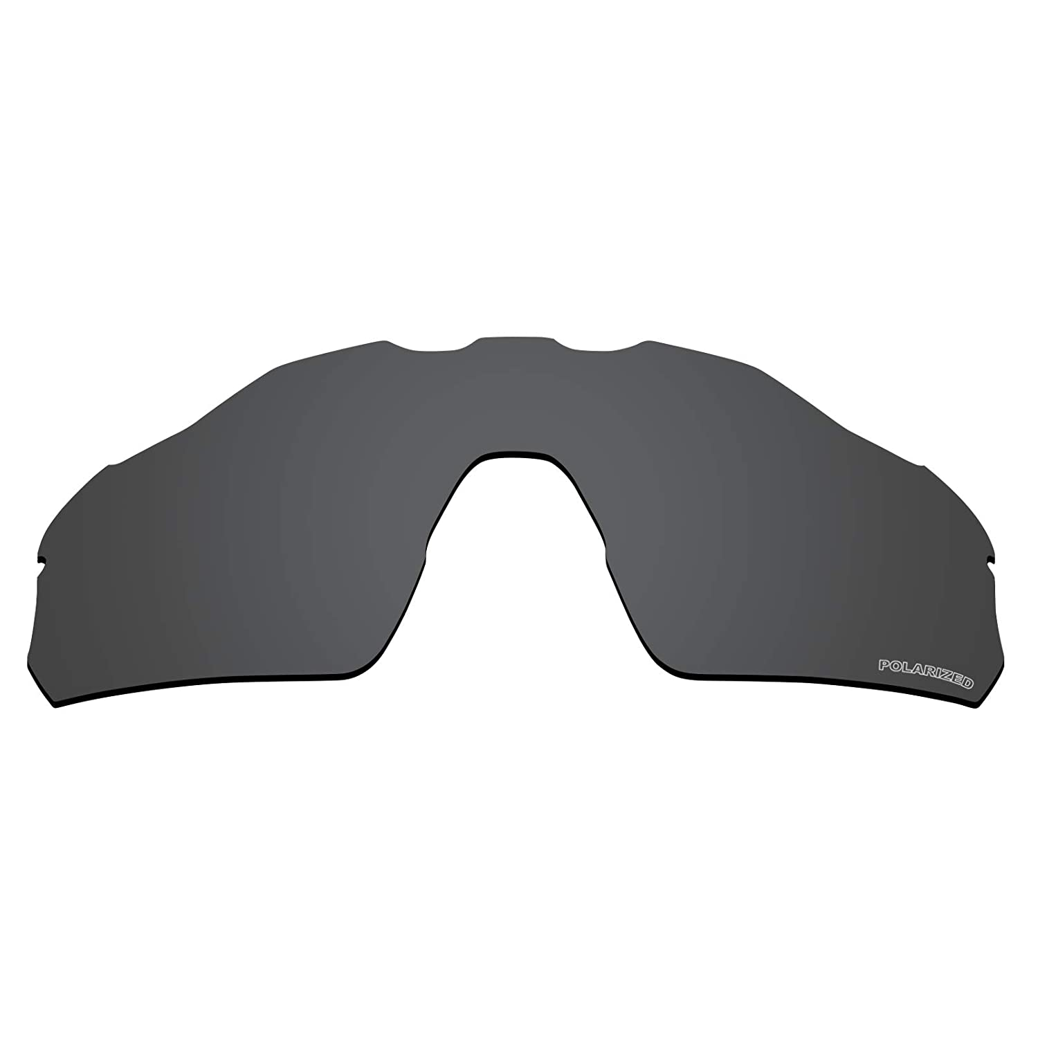 babda8e125 Amazon.com  Tintart Performance Lenses Compatible with Oakley Radar EV  Pitch Polarized Etched-Carbon Black  Clothing