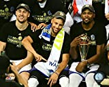 kevin durant pics - Golden State Warriors Klay Thompson, Stephen Curry & Kevin Durant After The 2017 NBA Finals. 8x10 Photo Picture