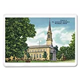 Waukegan, Illinois - Exterior View of the Church of the Immaculate Conception (Playing Card Deck - 52 Card Poker Size with Jokers)