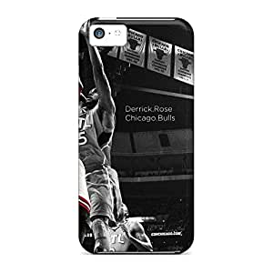 Awesome phone back shell Skin Cases Covers For Iphone covers iphone 5c - derrick rose chicago bulls