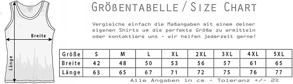 Urban Backwoods Baron Samedi Veve Herren M/änner Tank Top Training Shirt