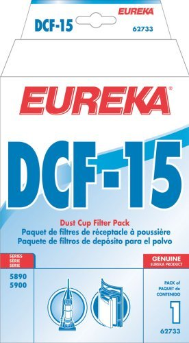 Eureka Dust cup Filter DCF 15 For Models 5890 and 5900 Series. Dcf 15 Dust Cup Filter