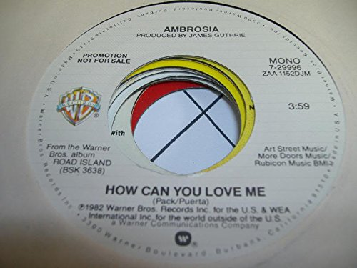 Ambrosia - How Can You Love Me - Zortam Music