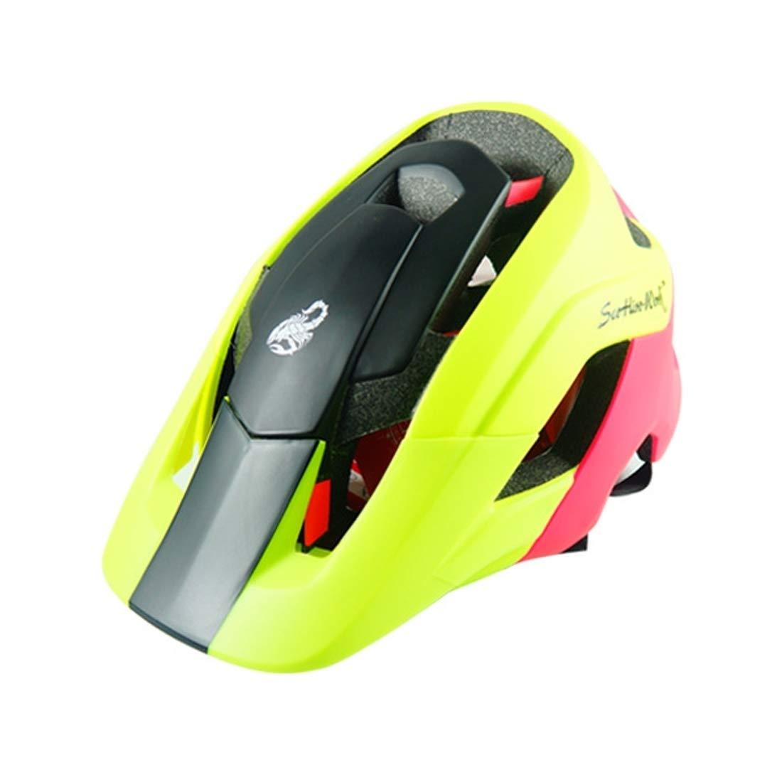 マウンテンバイク用保護ヘルメット、アウトドアスポーツに適したヘッドの周囲の長さ:58-53 cm、サイズ:L, (SKU : Og8006by) Og8006by  B07MXCVJHZ