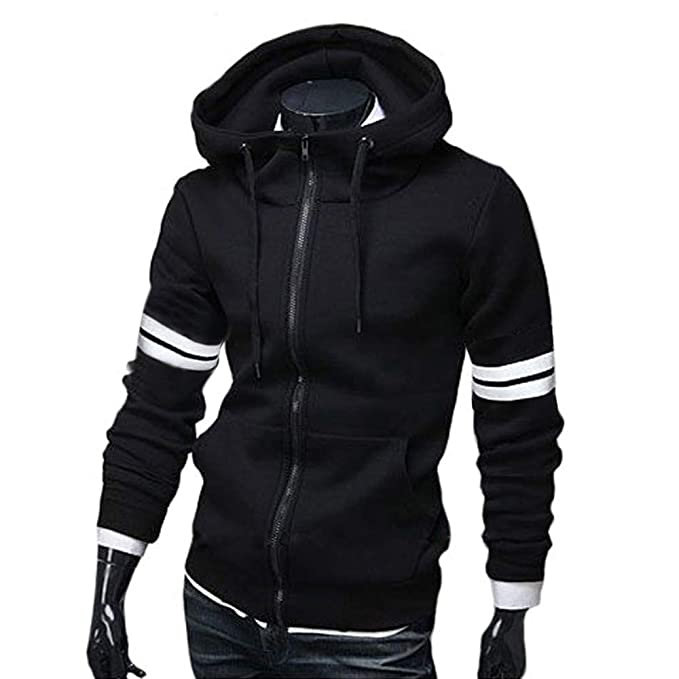 Amazon.com: POQOQ Shirts Tops Mens Fashion Pure Color Hoodies Blouse Casual Long Sleeve Slim: Clothing