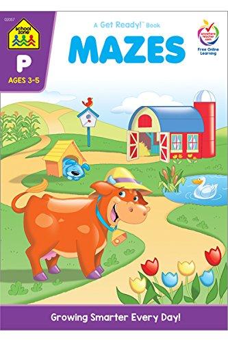 Mazes: A Get Ready Book, Grade P