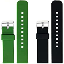 2pcs Replacement Silicone Bands for Samsung Gear NEO Only