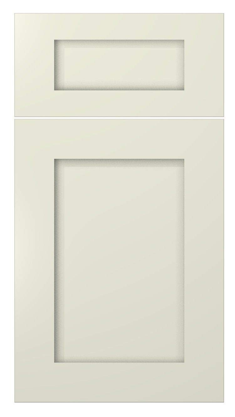 Shaker Creme White Cabinet Solid Wood Construction Wall Cabinet Bridge for Kitchen Bath or Laundry